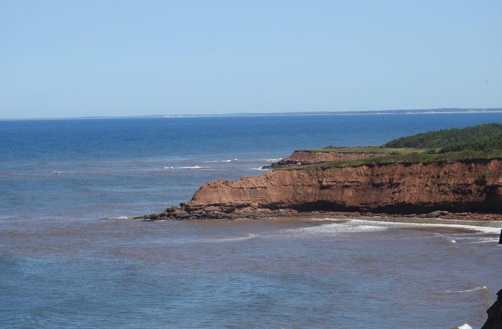 North Rustico cliff